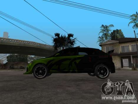 Chevrolet Lacetti Tuning for GTA San Andreas left view