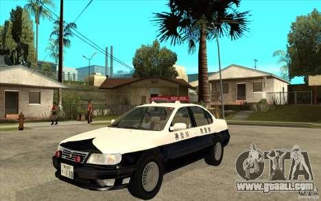 Nissan Cefiro A32 Kouki Japanese PoliceCar for GTA San Andreas right view