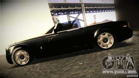 Rolls Royce Phantom Drophead Coupe 2007 V1.0 for GTA San Andreas left view