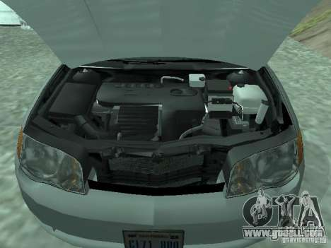 Saturn Ion Quad Coupe 2004 for GTA San Andreas right view