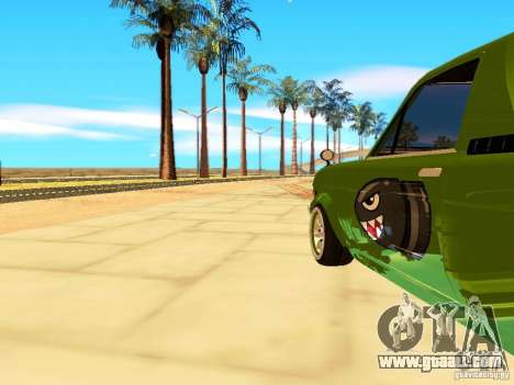 Nissan Sunny K Truck FISH ART for GTA San Andreas back view
