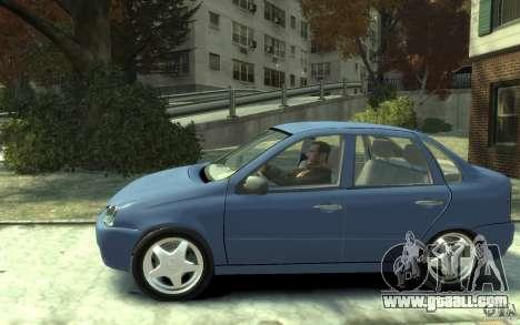 Lada VAZ 1118 Kalin for GTA 4 left view