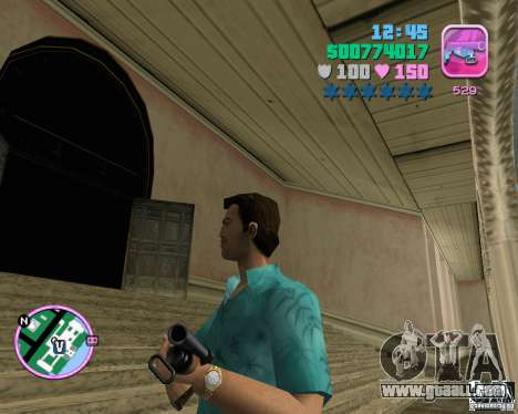 Standard Tommy in HD for GTA Vice City
