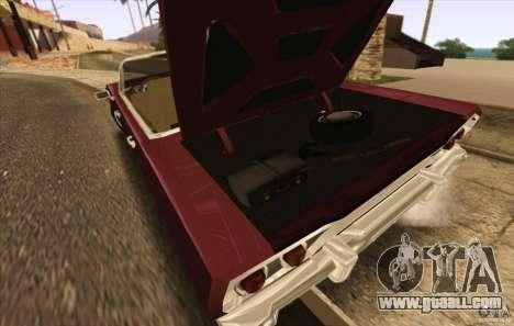 Savanna Detroit 1965 ( v. 2 ) for GTA San Andreas right view