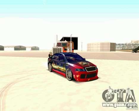 Skoda Octavia III Tuning for GTA San Andreas