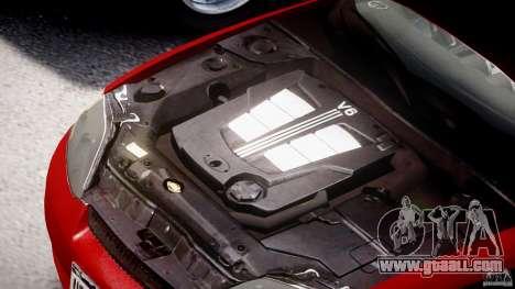 Hyundai Tiburon tunable for GTA 4 upper view