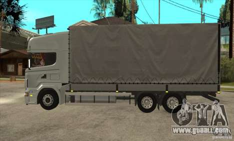 Scania R620 V8 for GTA San Andreas left view