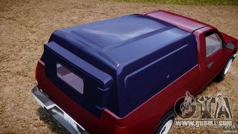 Chevrolet Colorado 2005 for GTA 4 side view