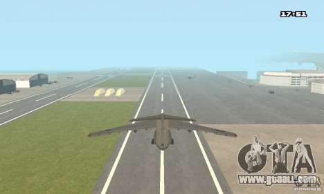 Ilyushin Il-76 MD for GTA San Andreas left view