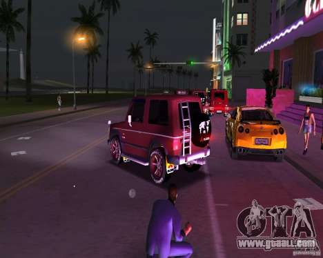 Mitsubishi Pajero for GTA Vice City left view