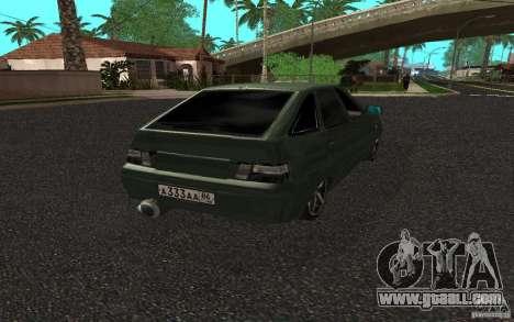 VAZ-2112 v. 2 for GTA San Andreas left view