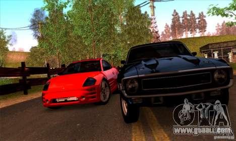 SA gline v4.0 Screen Edition for GTA San Andreas sixth screenshot