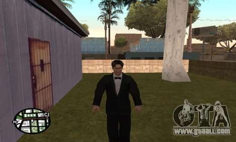 Dark Knight Skin Pack for GTA San Andreas ninth screenshot