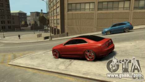AUDI S5 for GTA 4 left view