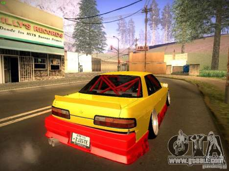 Nissan Onevia 2JZ for GTA San Andreas left view