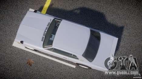 Nissan Skyline 2000 GT-R Drift Tuning for GTA 4 inner view