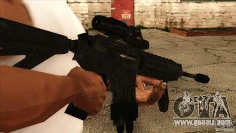 M4 heart rate sensor for GTA San Andreas third screenshot