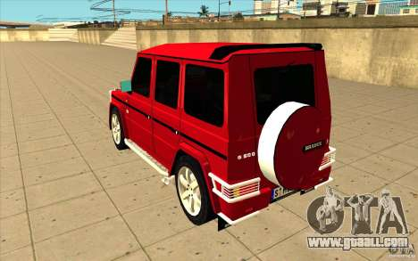 Mercedes-Benz G500 Brabus for GTA San Andreas