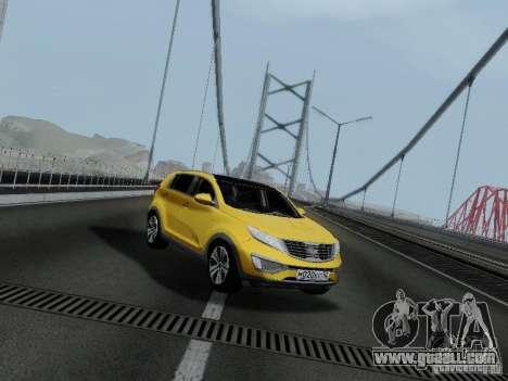 KIA Sportage for GTA San Andreas