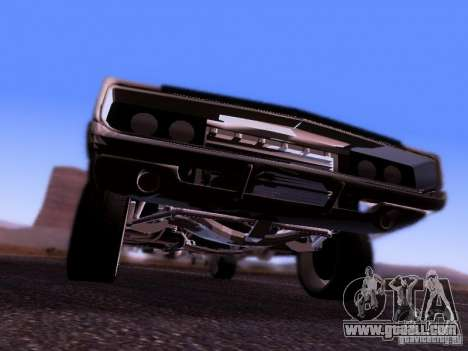 Dodge Charger 1970 Fast Five for GTA San Andreas back view