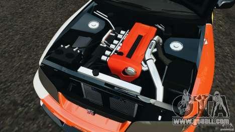 Nissan Skyline GT-R (R33) v1.0 for GTA 4 upper view