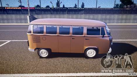 Volkswagen Kombi Bus for GTA 4 left view