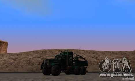 KrAZ 255 B1 Krazy-Crocodile for GTA San Andreas side view