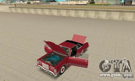 Ford LTD Landau Coupe 1975 for GTA San Andreas back view