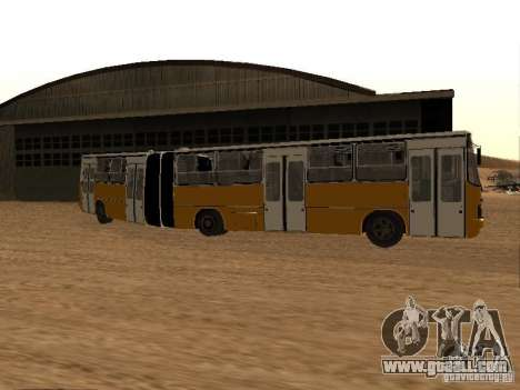 IKARUS 280.46 for GTA San Andreas bottom view