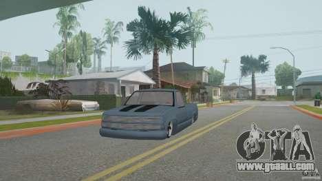 Chevrolet Silverado Mini Truckin 1996 for GTA San Andreas