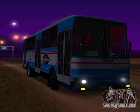 Autosan H10-11B Orenburg for GTA San Andreas inner view