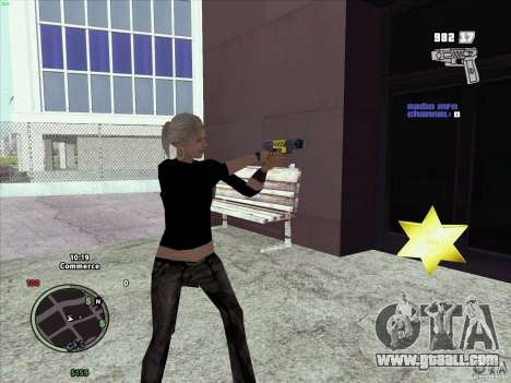Pack of GTA IV for GTA San Andreas