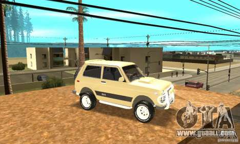 VAZ 21213 4 x 4 for GTA San Andreas side view