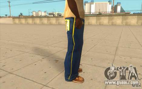 Karl Kan Puzzle Jeans for GTA San Andreas forth screenshot
