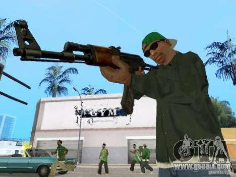 AKC - 47 HD for GTA San Andreas third screenshot