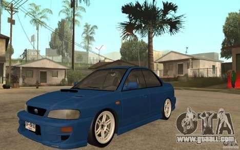 Subaru Impreza GC8 JDM SPEC for GTA San Andreas