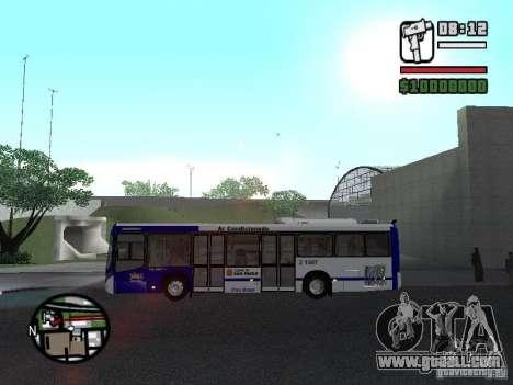 Busscar Urbanuss Ecoss MB 0500U Sambaiba for GTA San Andreas left view