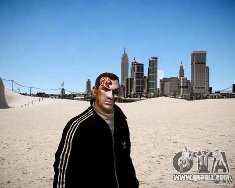Niko - Terminator for GTA 4 second screenshot