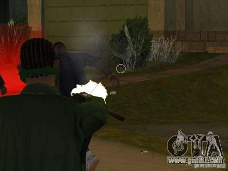 CLEO Weapons for GTA San Andreas forth screenshot