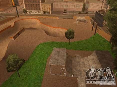 New SkatePark v2 for GTA San Andreas