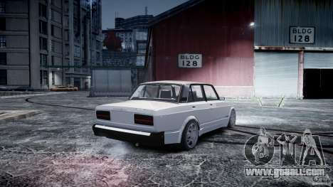 ВАЗ 2107 Drift for GTA 4 left view