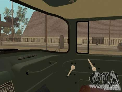 ZIL 131 Truck for GTA San Andreas side view