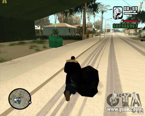 Make trash for GTA San Andreas fifth screenshot