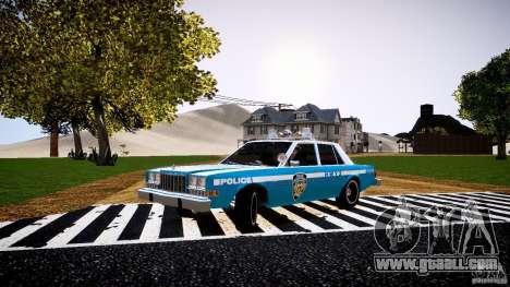 Dodge Diplomat 1983 Police v1.0 for GTA 4