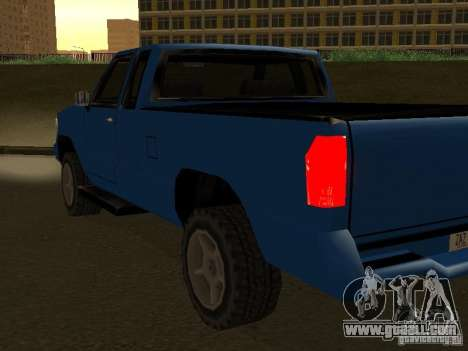 New Yosemite for GTA San Andreas side view