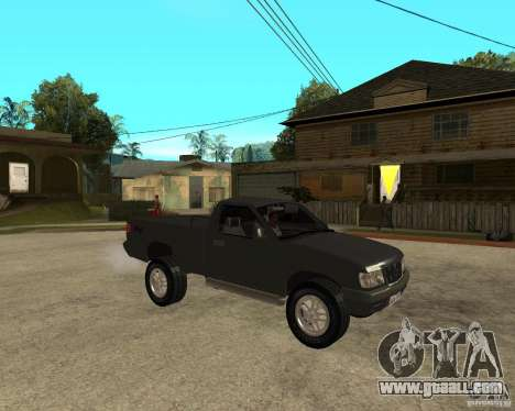 Chevrolet S-10 for GTA San Andreas right view