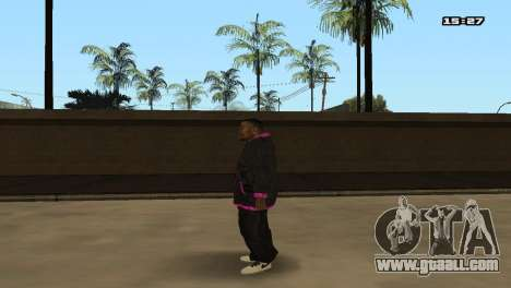 Skin Pack Ballas for GTA San Andreas seventh screenshot