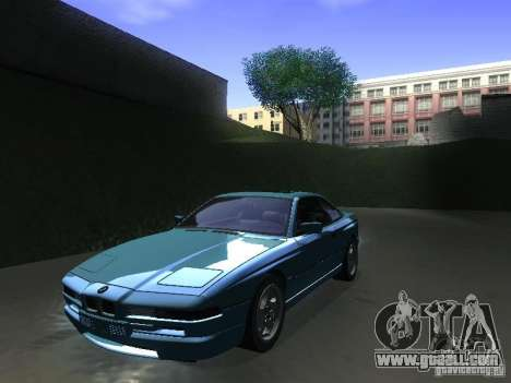 BMW 850CSi 1995 for GTA San Andreas