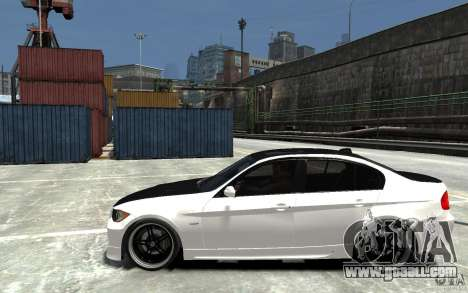 BMW 330i E60 Tuned 2 for GTA 4 left view