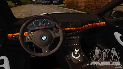 BMW M3 E46 for GTA 4 right view